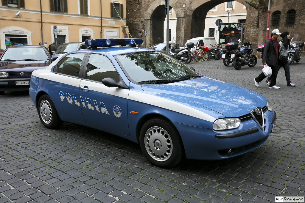 Alfa Romeo 156 Polizia | Vaticano, Itália. | Ruy Barbosa ...