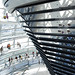 Climbing the Norman Foster dome, Reichstag
