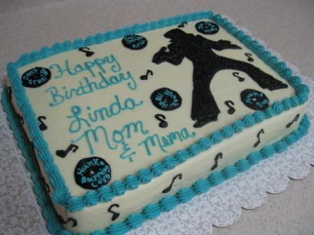 Elvis Birthday Cake Decorations