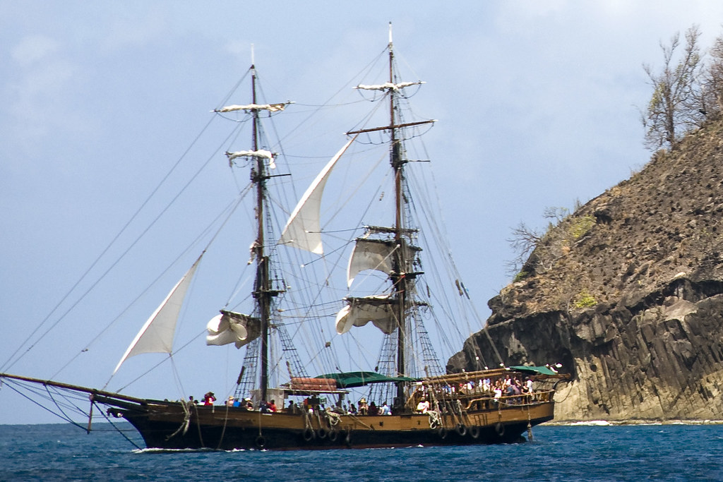 Unicorn Tall Ship Cruise St. Lucia Caribbean | That Is ...