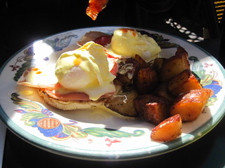 Poached Eggs Monaco | by Melissa Eats, Shoots, and Leaves