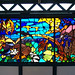 Stained Glass Window - NY Subway