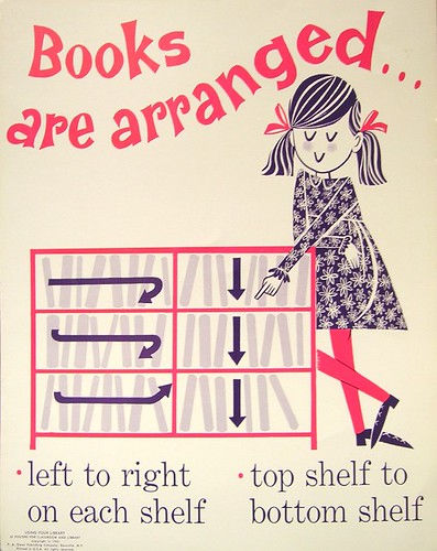 RETRO POSTER - Books are Arranged ... | by Enokson