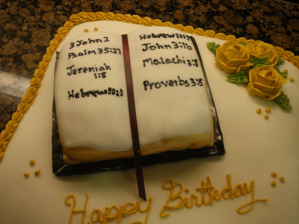 Pastors Birthday Cake Ann Marie Osorio Flickr