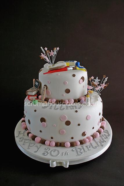 Birthday Cake (601) - Teacher, New Baby & Painting  Flickr