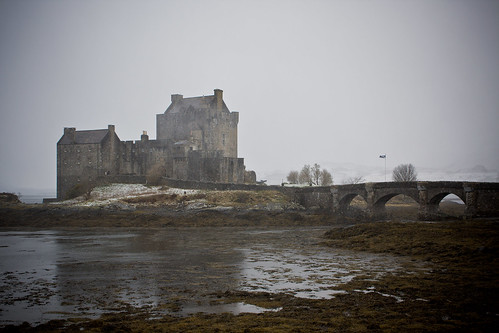 Eilean Donan in the Snow | by Jules3000