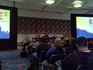 C2E2 Friday Night Event with Max Brooks and George R.R. Martin | by Avatar Press