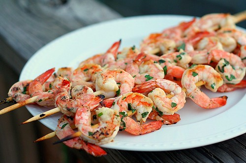 Grilled Herb Shrimp | by Tracey's Culinary Adventures