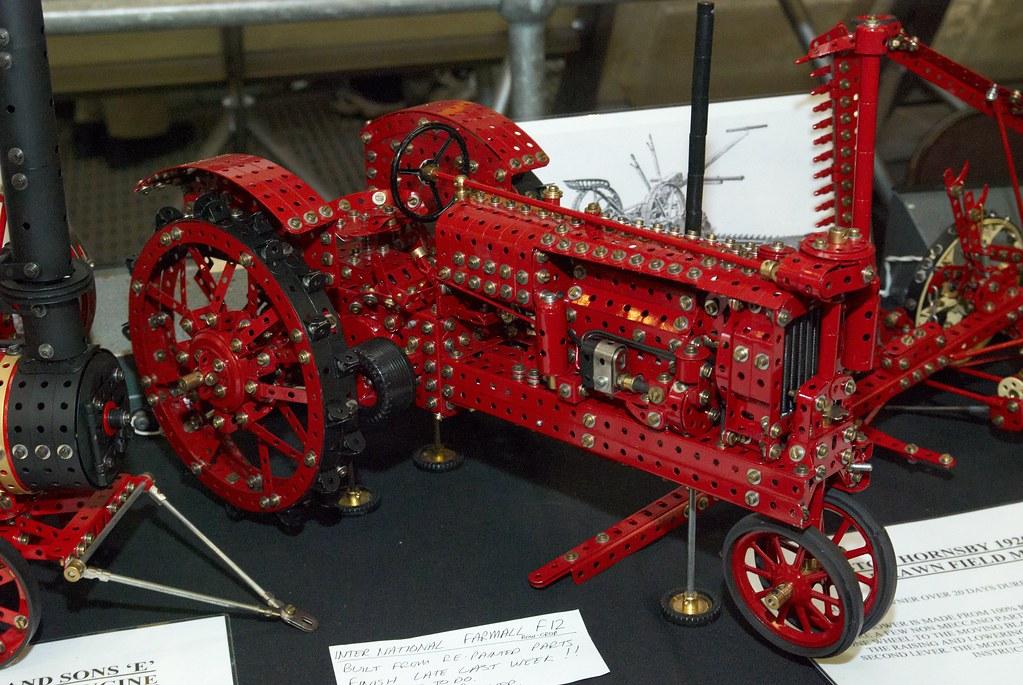 Farmall F12 Decals : Meccano international farmall f tractor by darren bonner