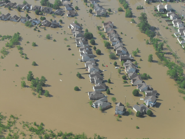 Nashville TN  2010 Flood  Housing Development North Of