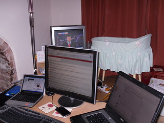 Election night set up | by artesea