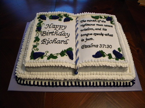 Cake Decorated Like Books : Did anyone else have this Birthday cake book?