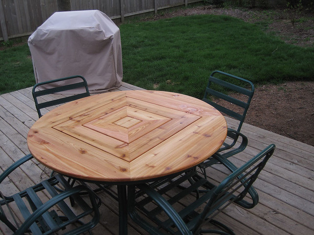 ... New Cedar Tabletop | By Crybdr
