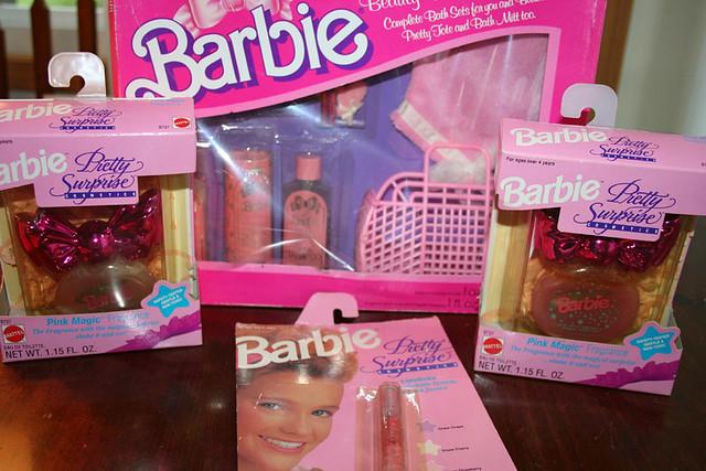 Vintage Barbie Makeup |