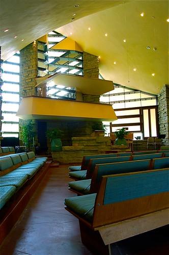 Interior Frank Lloyd Wright Designed Unitarian Universali Flickr