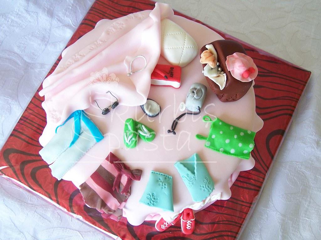 Birthday Cakes For Teenage Girls ~ Teenage girl's messy room cake ; teenager's cake messy u2026 flickr