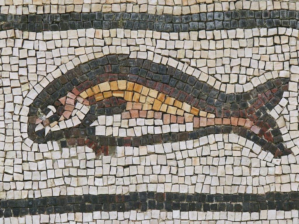 Byzantine Fish Mosaic, Beiteddine Palace / قصر بيت الدين | Flickr