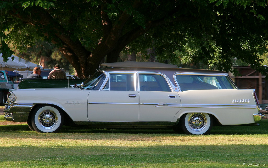 1958 Chrysler New Yorker Town & Country Wagon 9-P - svl | Flickr