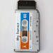 Grey Cassette Tape iPhone Case by CrankCases