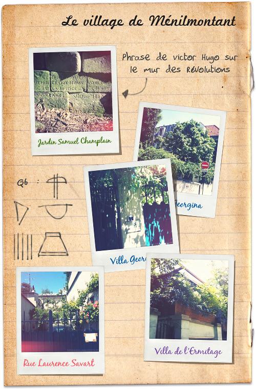 Le Village de Ménilmontant