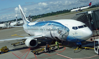 Alaska Airlines' Wild Alaskan Salmon 737 at Sea-Tac | by Alaskan Dude