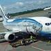 Alaska Airlines' Wild Alaskan Salmon 737 at Sea-Tac