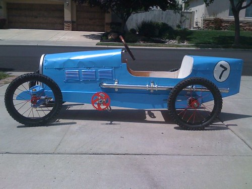 Bugatti Type 35 Pedal Car | by thegokart