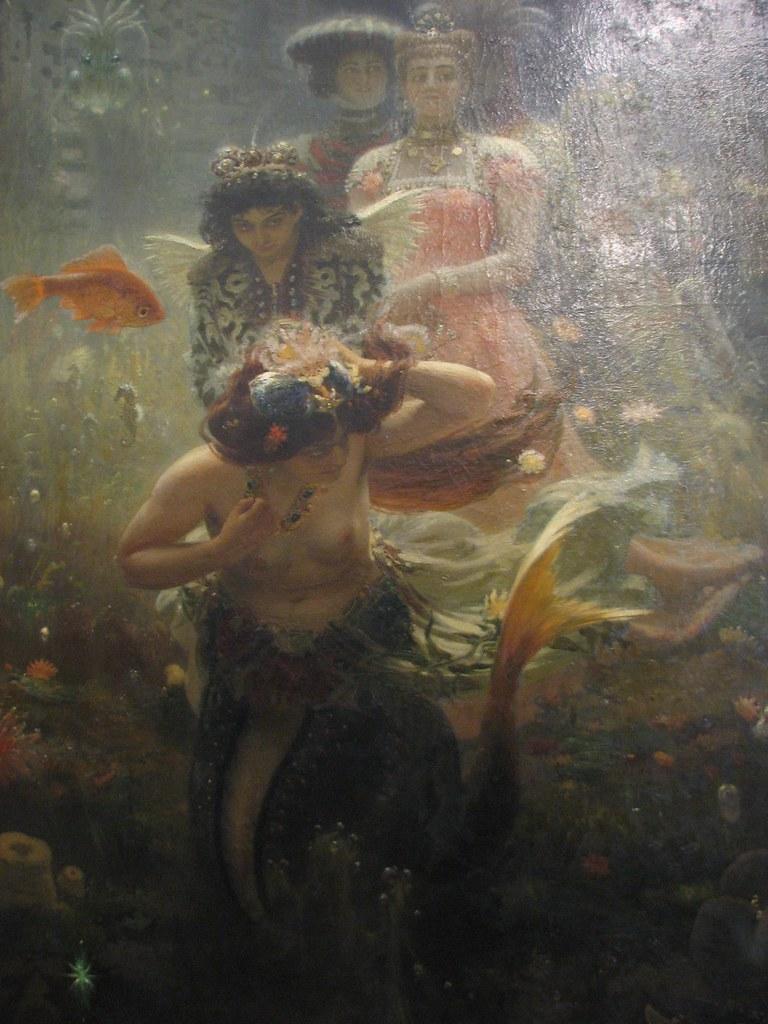 The Hermitage - I.Repin: Sadko in the Underwater Kingdom ...