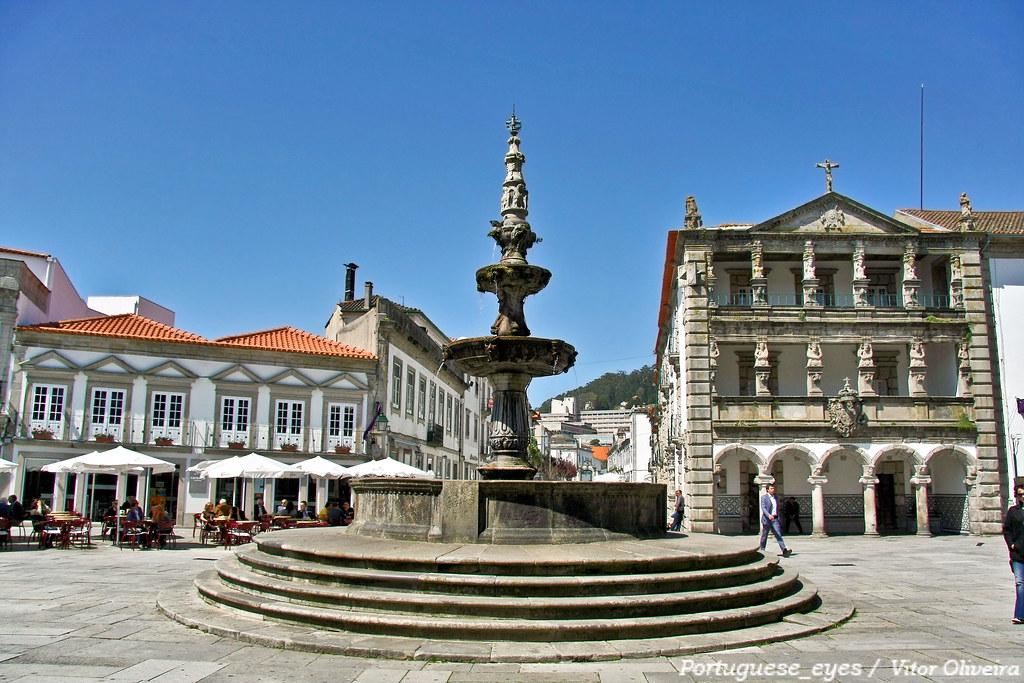 Pra a da rep blica viana do castelo portugal see - Viana do castelo portugal ...