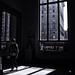 the window shadow in MET - NYC