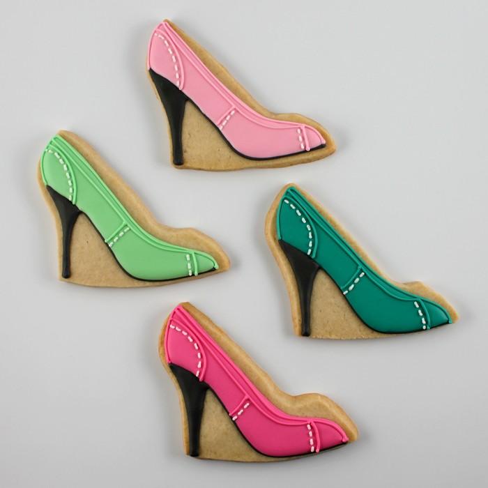 High Heels Shoe Cookies