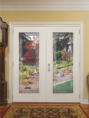 Feather River Door Fiberglass Patio Doors Smooth White F