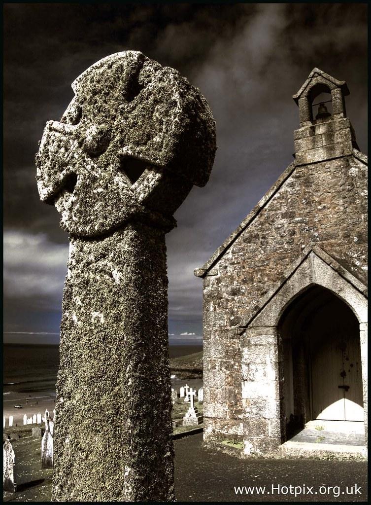 365 349 Barnoon Chapel And Graveyard St Ives Cornwall Uk