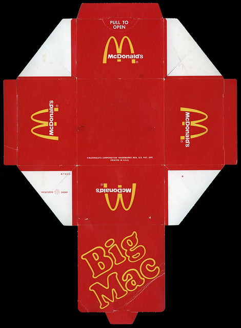 Как сделать из бумаги макдональдс