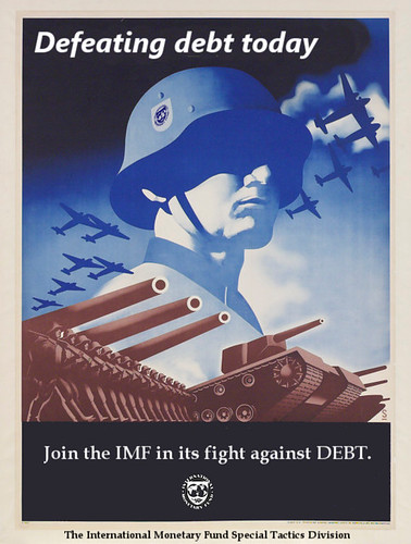 Defeat Debt - Join the IMF | by Teacher Dude's BBQ