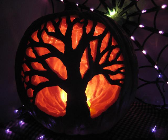 Tree of life jack o lantern flickr photo sharing