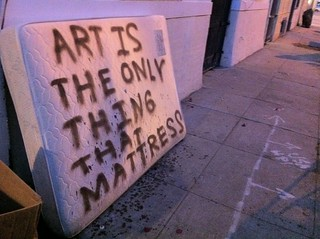 Art is the only thing that mattress | by justin