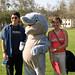 Future students with Tsunami the Dolphin