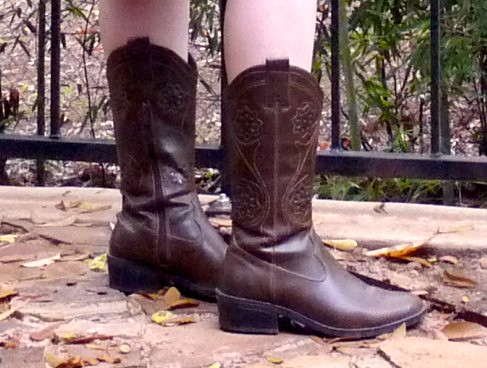 vegan cowboy boots | madame.furie | Flickr
