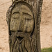 Laughing woodface