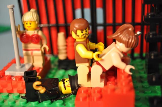 Лего сиськи видео