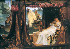 Alma-Tadema, Lawrence (1836-1912) - 1883 Antony and Cleopatra | by RasMarley