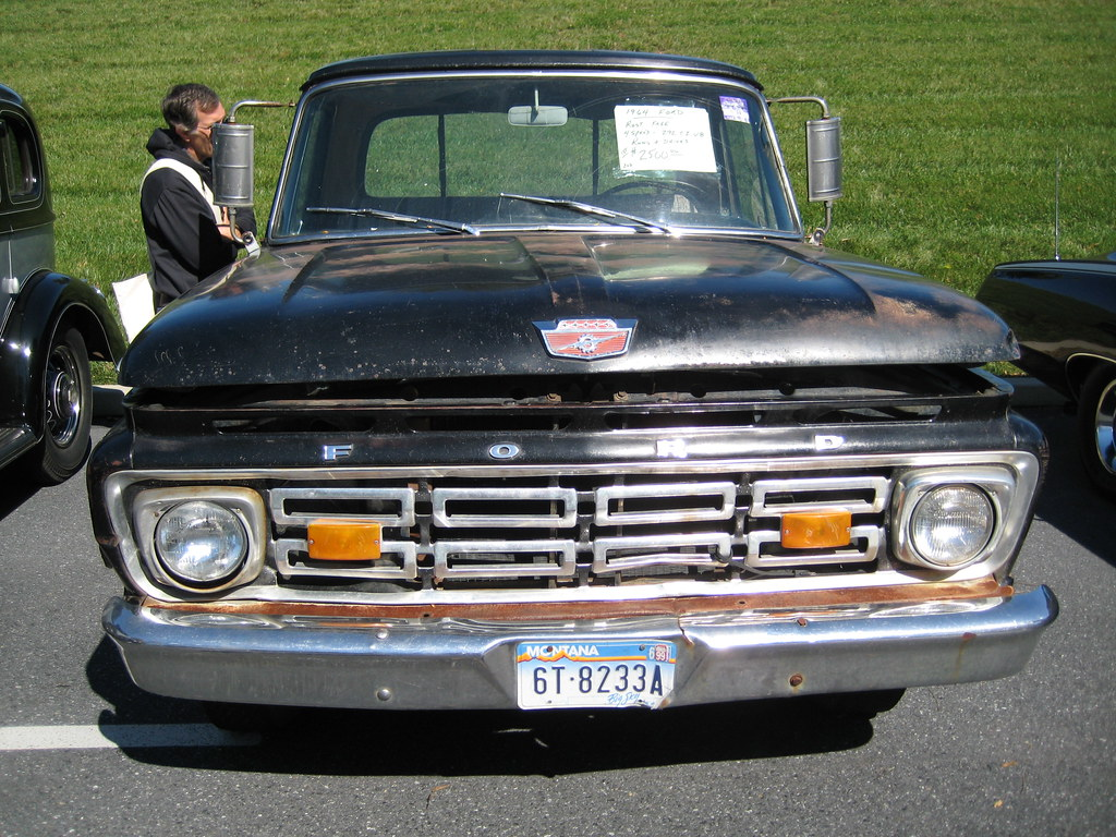 1964 Ford Pickup Rust Free Montana Truck In The Cars For Flickr By Hugo 90