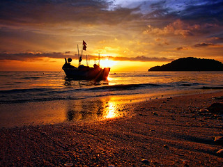 Sunset @Permatang Damar Laut | by ishafizan