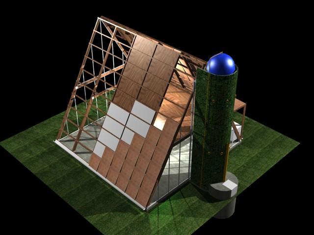 Casa ecol gica prefabricada img 08 el art fice i igo - Casa ecologica prefabricada ...