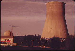 Trojan Nuclear Plant at Ranier on the Columbia River. Built by the Portland General Electric Company Under an Aec Permit, the Project Has Met Stiff Opposition From Environmentalists and Others 05/1973 | by The U.S. National Archives