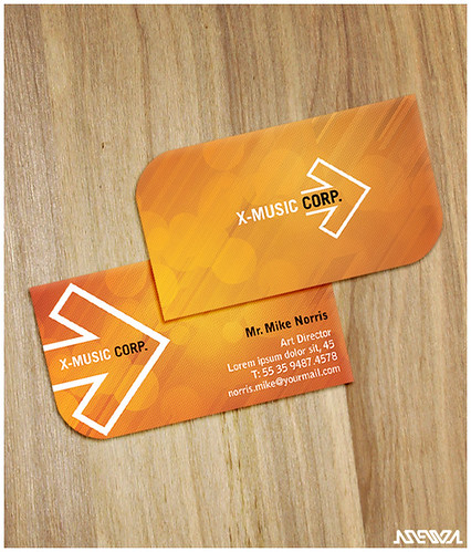 Sunset Business Card | by Jaaaiiro