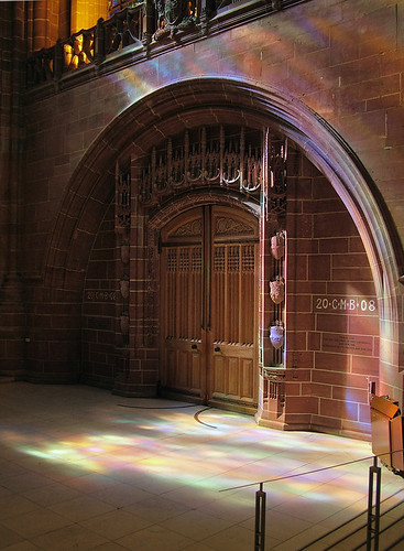 west door of liverpool anglican cathedral uk the light. Black Bedroom Furniture Sets. Home Design Ideas
