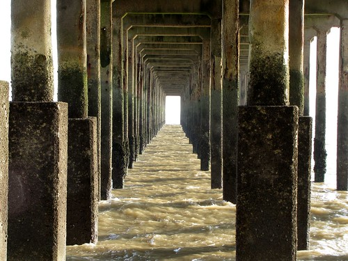 Underneath Felixstowe Pier | by Kevin Millican