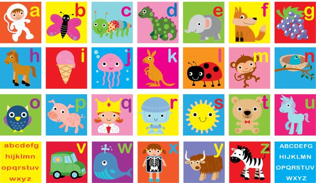 alphabet poster | fhiona galloway | Flickr